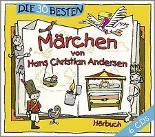 Les 30 meilleures conte de Hans Christian Andersen-CD-Box NEUF & fait un nœud