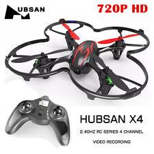 Hubsan H107C Pro X4 Drone 2.4G RC Quadcopter 720P HD Camera LED RTF Red Black