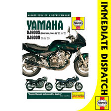 [2145] Yamaha XJ600S Diversion Seca II XJ600N Fours 1992-2003 Haynes Workshop Ma