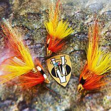 3 V Fly 3//4 pouces Ultimate Mertoun Piglet Shrimp Brass Salmon Tube nappes /& Hooks