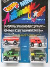 MINI AUTOMAGIC  CHANGE COLOURS  CONFEZ. FUORISTRADA  HOT WHEELS MATTEL ANNI '80