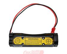 2Pcs 3.6V 3.7V Li-ion 18650 Battery Holder Case 1S1P Pcm Inside output:3-4.2V