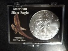 "2016 American Silver Eagle Dollar, BU,1oz., ""Eagle"" Gift/  3""x 2"" holder"