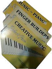 Robert Pace Lesson Book 2 Music for Piano, Finger Builders, Creative Music - Set