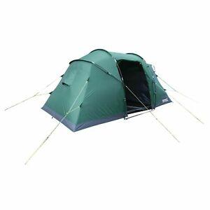 Regatta Equipment Kivu 4-Man Vis-a-Vis Tent Green