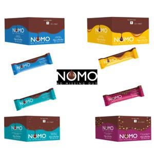 Nomo Vegan Chocolate Bars All Flavours Dairy Gluten Egg & Nut Free 24 Case
