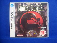 ds ULTIMATE MORTAL KOMBAT Game Lite DSi 3DS Nintendo PAL