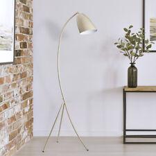 WOW LED Stehleuchte Stehlampe Skandinavisch Design Dreibein Vintage Beige B-Ware