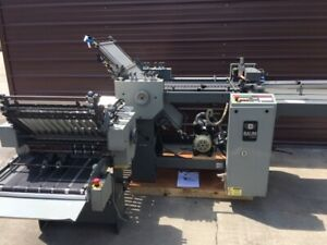 Baum 2020 Folder with Right Angle and Hang-on Delivery (Model 1320A-3-P-3)