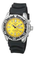 Diver Army Watch 100 ATM Yellow Helium Safe Seiko Movement Saphire Glass OFFER