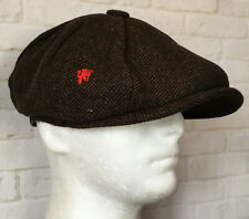 CLASSIC PEAKY BLINDERS RED DEVIL FLAT CAP TOMMY SHELBY MANCHESTER UNITED FAN