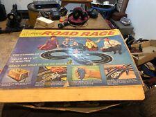 Vintage Eldon Deluxe Road Race Racetrack Slot Car Track