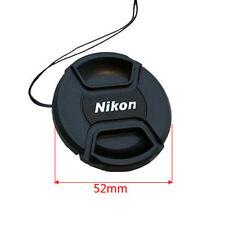 52mm Nikon Lens Cap Cover Keeper Front for Canon Nikon D5 D800 D3200 D5200 D7100