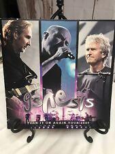Genesis Turn It On Again Tour 2007 Program