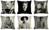 DAVID BOWIE Cushion Covers! Retro Vintage Rock Music Photo Legend 45cm Gift UK