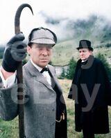 The Adventures of Sherlock Holmes (TV) Jeremy Brett 10x8 Photo