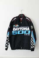 New 2016 58TH Annual Daytona 500 NASCAR Racing embroidery twill jacket men's L