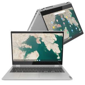 """Lenovo Chromebook C340 15.6"""" Touch Laptop Pentium Gold 4GB 32GB 81T90009UK #C"""