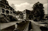 Bad Orb Spessart Hessen AK 1963  Sanatorium Küppelsmühle und Annenhof alte Autos