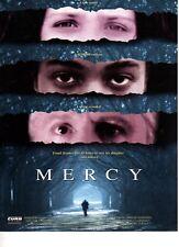 "ORIGINAL- 1 PAGE CINEMA/PRESS SHEET  - FOR "" MERCY ""  -JOHN RUBENSTEIN"