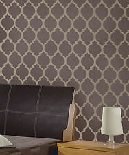 Casablanca Moroccan Stencil Pattern - DIY Reusable Stencils for Walls & Fabric