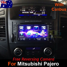 "7"" Car DVD Player Stereo GPS Nav Radio BT IPOD For Mitsubishi Pajero 2006-2015"