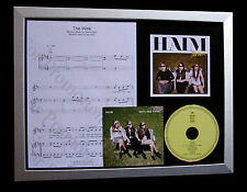 HAIM The Wire LTD GALLERY QUALITY CD FRAMED DISPLAY+EXPRESS GLOBAL SHIP