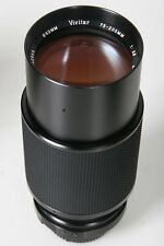 Vivitar 70-205, f/3.8. Minolta MD Manual Focus Mount
