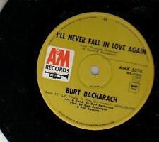 SINGLE 45 BURT BACHARACH NEVER FALL IN LOVE NEW ZEALAND