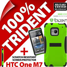 Trident Aegis Protective Rugged Hard Case + Screen Protector for HTC One (M7)