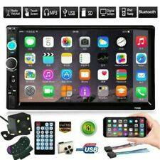 US 7 Inch DOUBLE 2DIN Car MP5 Player BT Tou+ch Screen Stereo Radio HD+Camera
