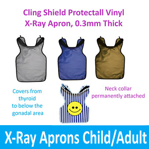 """PALMERO PROTECTALL X-RAY APRON w/Collar, Lead-lined, .3MM Thick, 22-¼"""" x 25-½"""""""