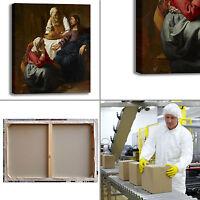 Vermeer Cristo con Marta e Maria quadro stampa tela dipinto telaio arredo casa