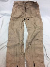 Eagle Industries CWU-27/P Pants Flight Suit Tan Nomex Aircrew PJ Pilot M/L