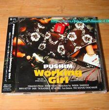 Pushim - Working Girl JAPAN CD W/OBI J-Pop #09-2