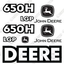 John Deere 650H LGP Dozer Equipment Decal Kit