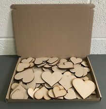 HA1 HUGE Clearance Wholesale Joblot Laser Cut Wooden MDF Love Heart Craft Shapes