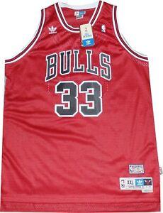 Chicago Bulls Scottie Pippen Swingman Adidas 7996A Jersey Size 2XL New tags