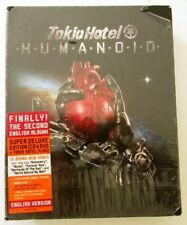 TOKYO HOTEL HUMANOID SUPER DE LUXE EDITION CD + DVD ENGLISH VERSION NUOVO