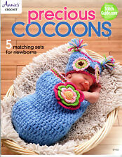 """PRECIOUS COCOONS""~Annie's Attic Crochet PATTERN BOOK~5 Sets~SEE PICTURES~NEW"