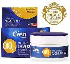 Cien Anti-Wrinkle Night Cream Q10 for Demanding Skin 50ml Fast SHIPPING