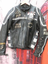 CHAQUETA CUERO VINTAGE INDIAN MOTORISTA LEATHER JACKET STURGIS CHUPA PIEL T- M