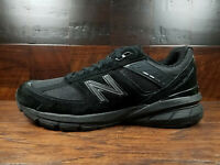 New Balance M990BB5 Black Suede Mens Running 990v5 Made in USA (Widths D 2E 4E)