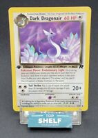 1st Edition Dark Dragonair 33/82 Team Rocket Non-Holo Pokemon Card - Near Mint