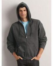 Gildan Zip Hoodie Heavy Blend Full Zip Hooded Sweatshirt Size S-5XL COLORS