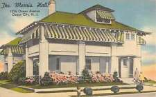 Ocean City New Jersey Morris Hall Street View Antique Postcard K39702