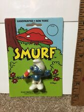 1982 Schleich Peyo Smurf   Sealed New Popsicle