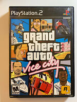Grand Theft Auto: Vice City Stories GTA - PS2 -Tested and Working- FAST SHIPPING