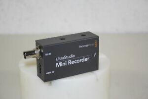 Blackmagic UltraStudio Mini Recorder (SDI- und HDMI-Anschlüsse), gebraucht