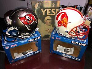 TAMPA BAY BUCCANEERS NFL Riddell ProLine AUTHENTIC Football Helmet SET + BONUS!!